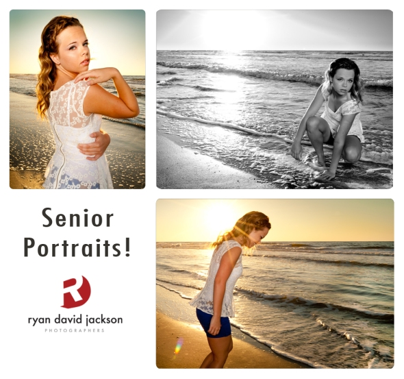 Beach sunrise portraits