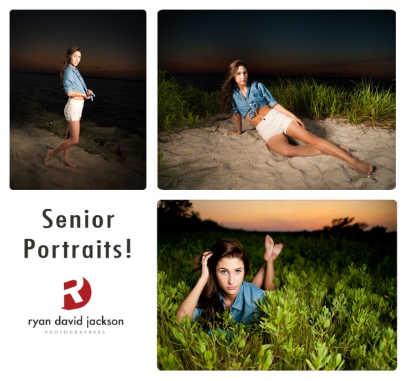 Fort Fisher night portraits