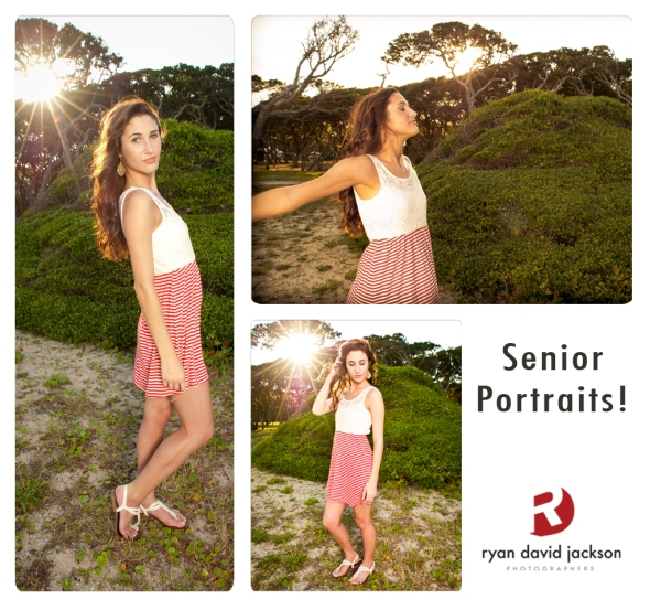 Fort Fisher bush scape portraits